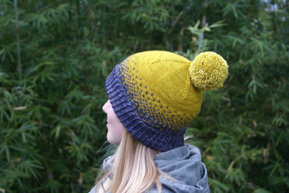 Driftless Hat Graphic Knitting Patterns By BlackCatKnitCo