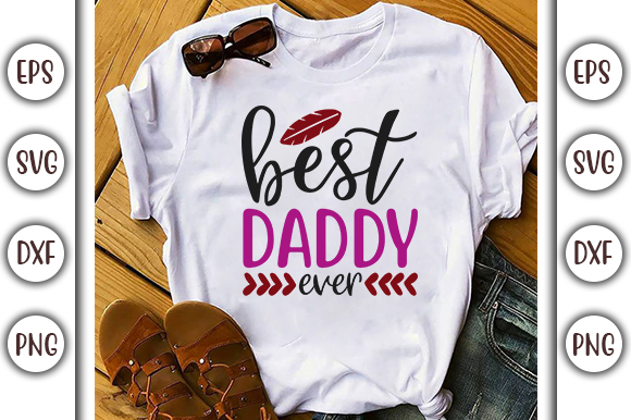 Download Free Father S Day Design Best Daddy Graphic By Graphicsbooth SVG Cut Files