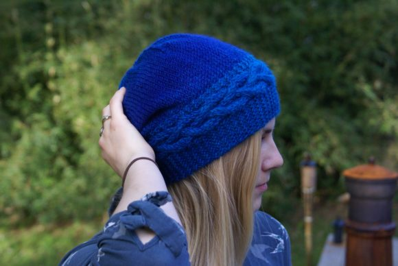 Fiordland Hat Graphic Knitting Patterns By BlackCatKnitCo
