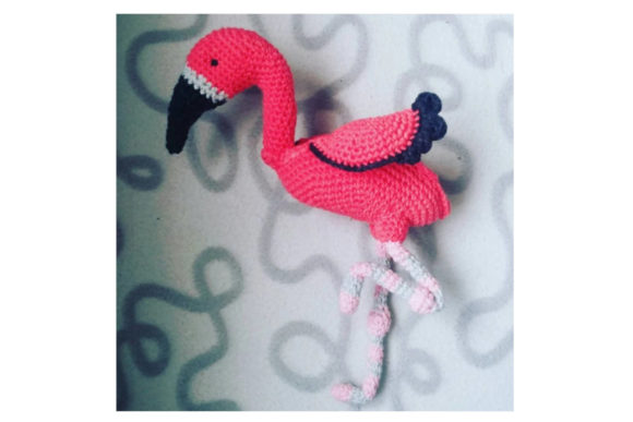 Flamingo Pretzal Headz Graphic Crochet Patterns By Tangle Tree Creative