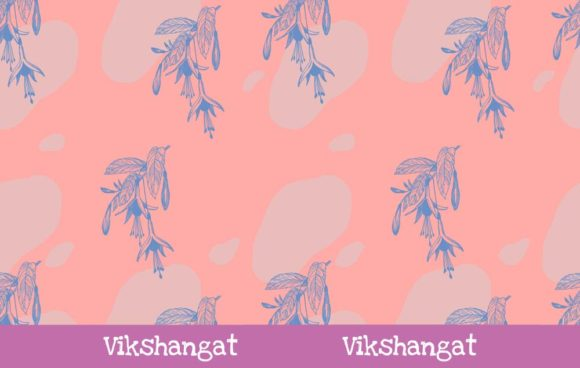 Download Free Purple Flower Vintage Cut Files Graphic By Vikshangat Creative for Cricut Explore, Silhouette and other cutting machines.