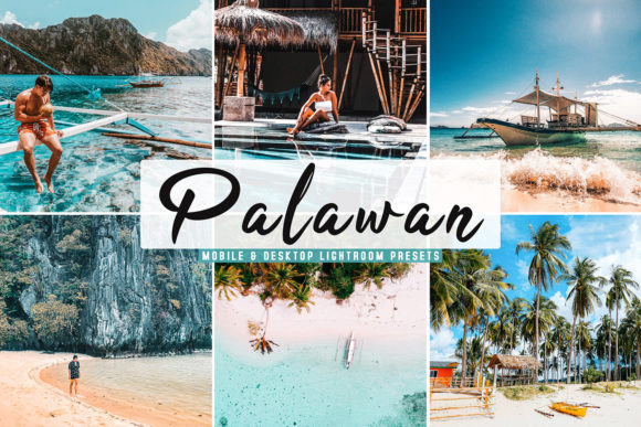 Print on Demand: Palawan Lightroom Presets Pack Graphic Actions & Presets By Creative Tacos