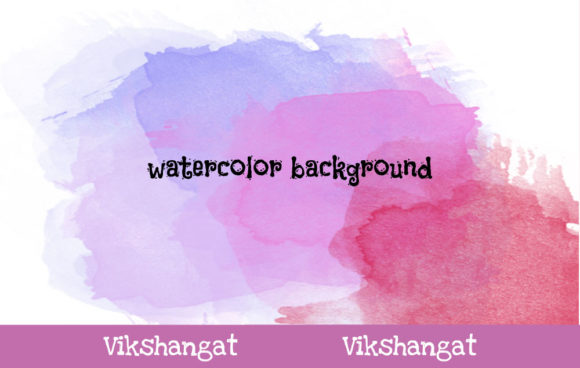 Print on Demand: Abstract Watercolor Background 14 Gráfico Fondos Por vikshangat