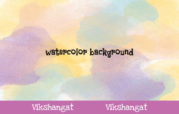 Download Free Abstract Watercolor Background 20 Graphic By Vikshangat for Cricut Explore, Silhouette and other cutting machines.