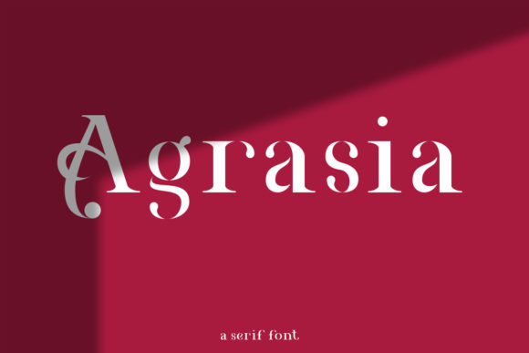 Print on Demand: Agrasia Serif Font By youthlabs
