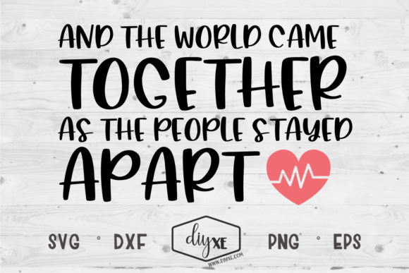 And the World Came Together Graphic Crafts By Sheryl Holst