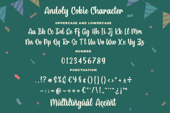 Andoly Cokie Font Image