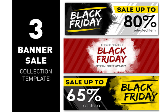 Banner Black Friday Offer Template Graphic Graphic Templates By ant project template
