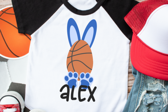 Download Free Basketball Bunny Graphic By Morgan Day Designs Creative Fabrica for Cricut Explore, Silhouette and other cutting machines.