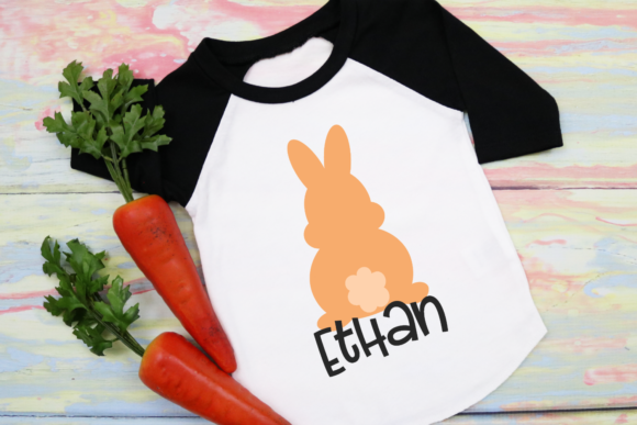 Download Free Boy Easter Bunny Graphic By Morgan Day Designs Creative Fabrica for Cricut Explore, Silhouette and other cutting machines.