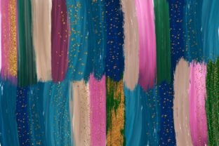 Brush Strokes and Backgrounds Graphic Backgrounds By Dishanti Art