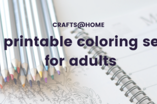 10 printable coloring sets for adults
