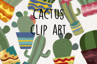 Download Free Cactus Clipart Plants Digital Image Graphic By Notturnoclipart Creative Fabrica for Cricut Explore, Silhouette and other cutting machines.