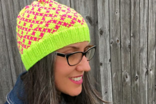 Chess Beanie Knit Pattern Graphic Knitting Patterns By Knit and Crochet Ever After