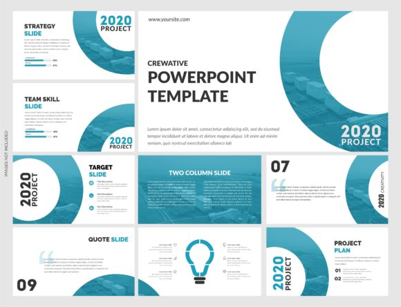 Corporate Powerpoint Template Vector Graphic Presentation Templates By lutfyhasan