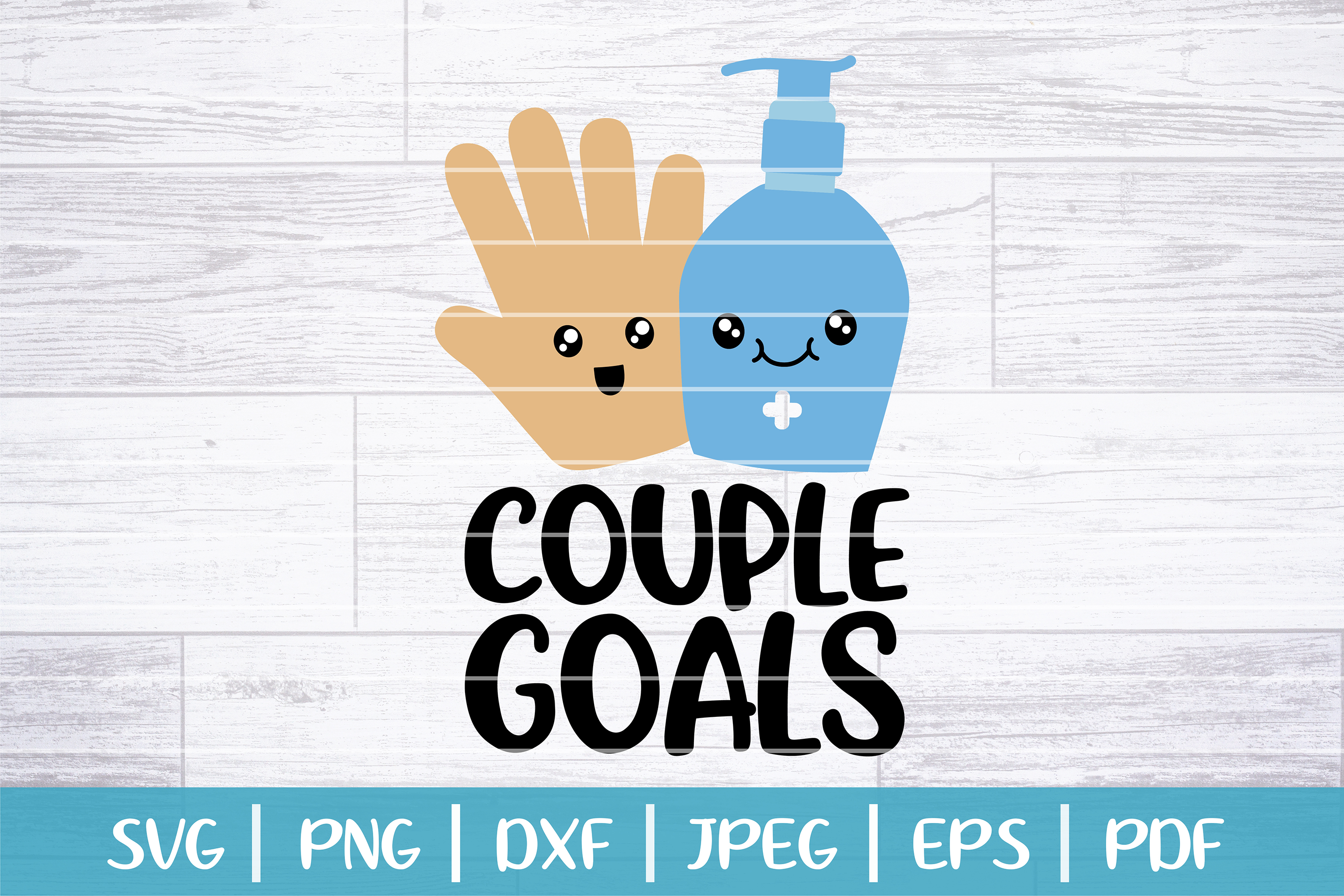 Download Free Couple Goals Hand And Soap Graphic By Seventhheaven Studios for Cricut Explore, Silhouette and other cutting machines.