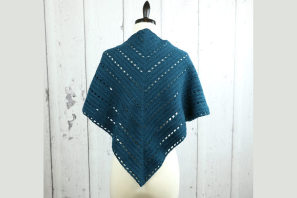 Crofton Shawl Crochet Pattern Graphic