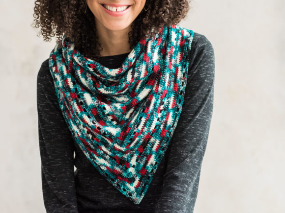 Crofton Shawl Crochet Pattern Graphic Item