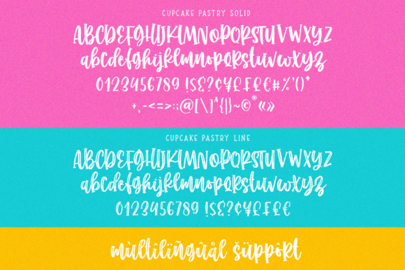 Print on Demand: Cupcake Pastry Script & Handwritten Font By Abodaniel - Image 13