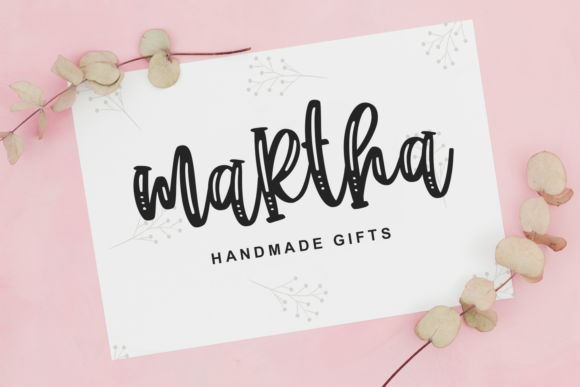 Cupcake Pastry Font Downloadable Digital File