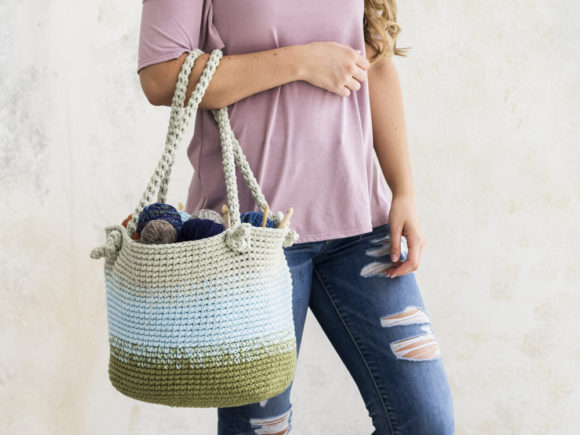Cutie Utility Bucket Bag Crochet Pattern Graphic Crochet Patterns By Knit and Crochet Ever After - Image 2
