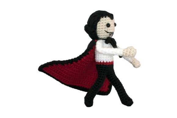 Download Free Dracula Crochet Pattern Graphic By Knit And Crochet Ever After for Cricut Explore, Silhouette and other cutting machines.