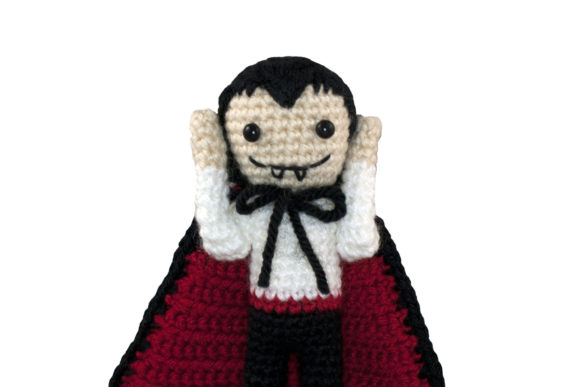 Dracula Crochet Pattern Graphic Crochet Patterns By Knit and Crochet Ever After - Image 4