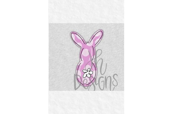 Download Free Happy Easter Bunny Banner Graphic By Jh Designs Creative Fabrica for Cricut Explore, Silhouette and other cutting machines.