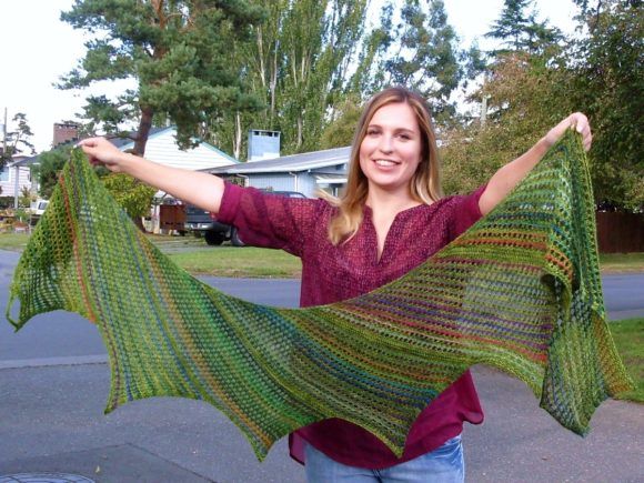 Enchanted Forest Veil - Knitting Pattern Graphic Knitting Patterns