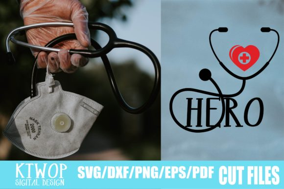 Download Free Medical Staff Hero Graphic By Ktwop Creative Fabrica for Cricut Explore, Silhouette and other cutting machines.