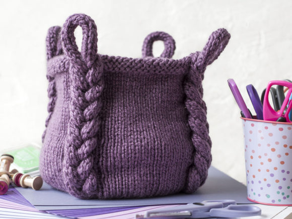 Entangle Basket Knit Pattern Graphic Knitting Patterns By Knit and Crochet Ever After - Image 1