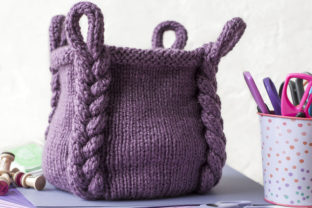 Entangle Basket Knit Pattern Graphic Knitting Patterns By Knit and Crochet Ever After