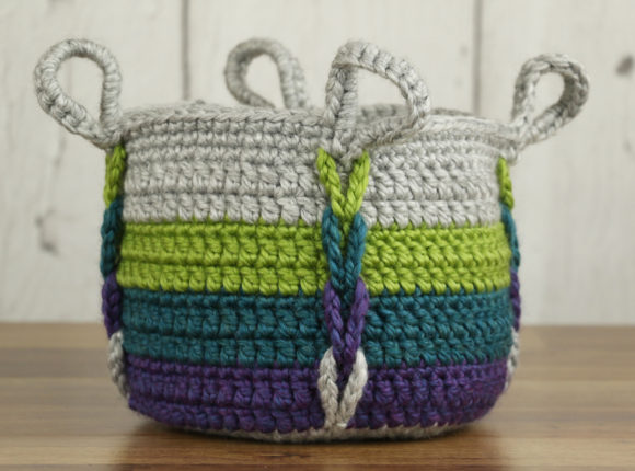 Entwined Basket Crochet Pattern Graphic Crochet Patterns By Knit and Crochet Ever After - Image 1