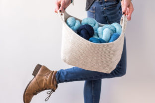 Essentials Basket Crochet Pattern Graphic Crochet Patterns By Knit and Crochet Ever After