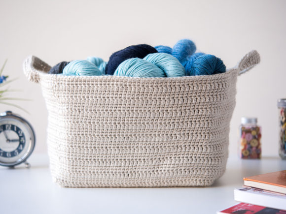 Essentials Basket Crochet Pattern Graphic Crochet Patterns By Knit and Crochet Ever After - Image 2