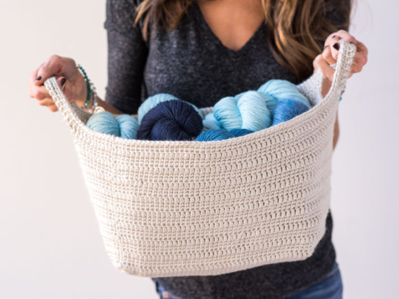 Essentials Basket Crochet Pattern Graphic Crochet Patterns By Knit and Crochet Ever After - Image 3
