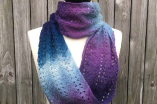 Fall Infinity Scarf Crochet Pattern Graphic Crochet Patterns By Knit and Crochet Ever After 3