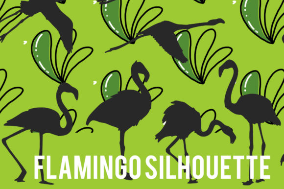 Print on Demand: Flamingo Silhouette Graphic Graphic Templates By stanosh