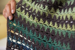 Floating Triangles Scarf Graphic Crochet Patterns By Knit and Crochet Ever After
