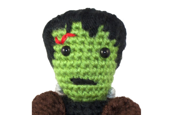 Frankenstein's Monster Crochet Pattern Graphic Crochet Patterns By Knit and Crochet Ever After