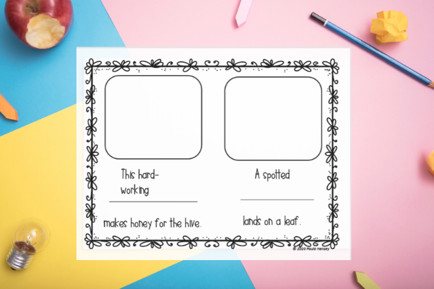 Free learning resources for kids. Compound words exercise.