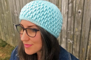 Frost Beanie Crochet Pattern Graphic Crochet Patterns By Knit and Crochet Ever After