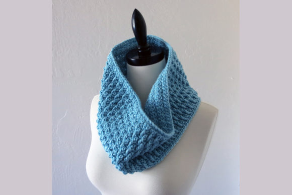 Frost Cowl Crochet Pattern Graphic Crochet Patterns By Knit and Crochet Ever After
