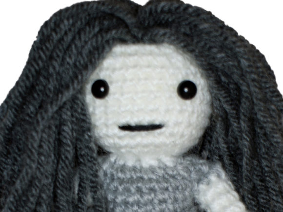 Ghost Girl Crochet Pattern Graphic Crochet Patterns By Knit and Crochet Ever After - Image 1