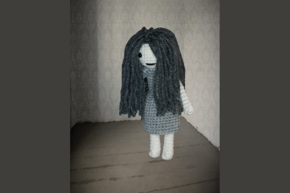Ghost Girl Crochet Pattern Graphic Download