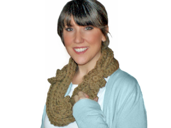 Download Free Golden Gate Necklace Scarf Graphic By Knit And Crochet Ever for Cricut Explore, Silhouette and other cutting machines.