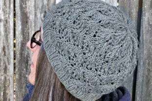 Grace Beanie Knit Pattern Graphic Knitting Patterns By Knit and Crochet Ever After