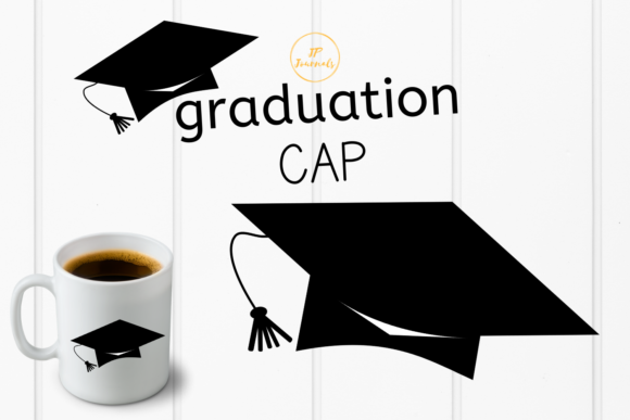 Download Free Graduation Cap Graphic By Jpjournalsandbooks Creative Fabrica for Cricut Explore, Silhouette and other cutting machines.