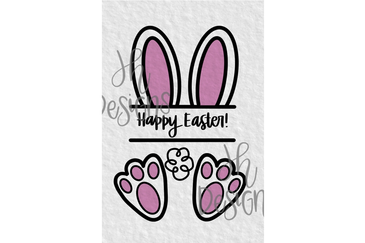 Download Free Happy Easter Bunny Banner Grafico Por Jh Designs Creative Fabrica for Cricut Explore, Silhouette and other cutting machines.