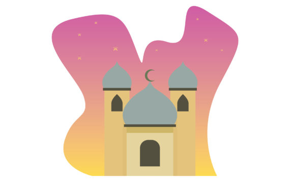 Download Free Happy Ramadan Illustration Graphic By Designcommander62 for Cricut Explore, Silhouette and other cutting machines.